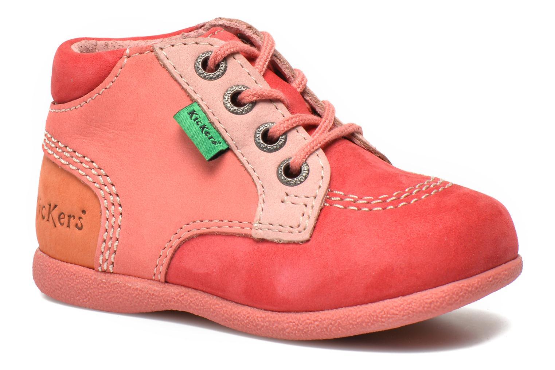 Stiefeletten & Boots Kickers Babystan rosa detaillierte ansicht/modell