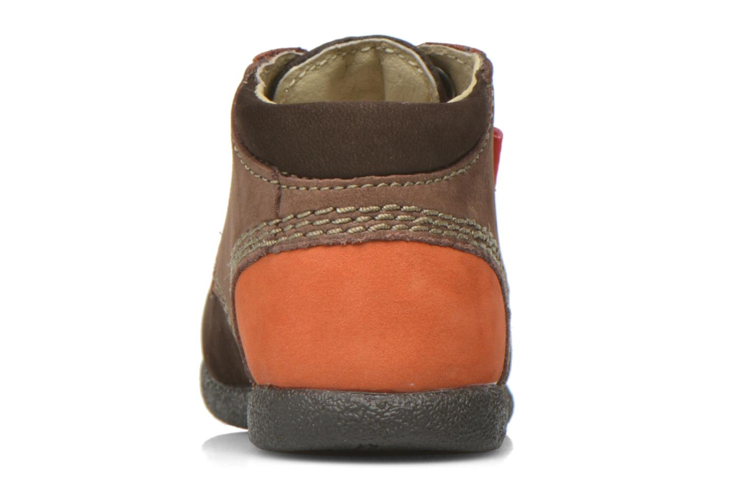 BABYSTAN Marron fonce orange