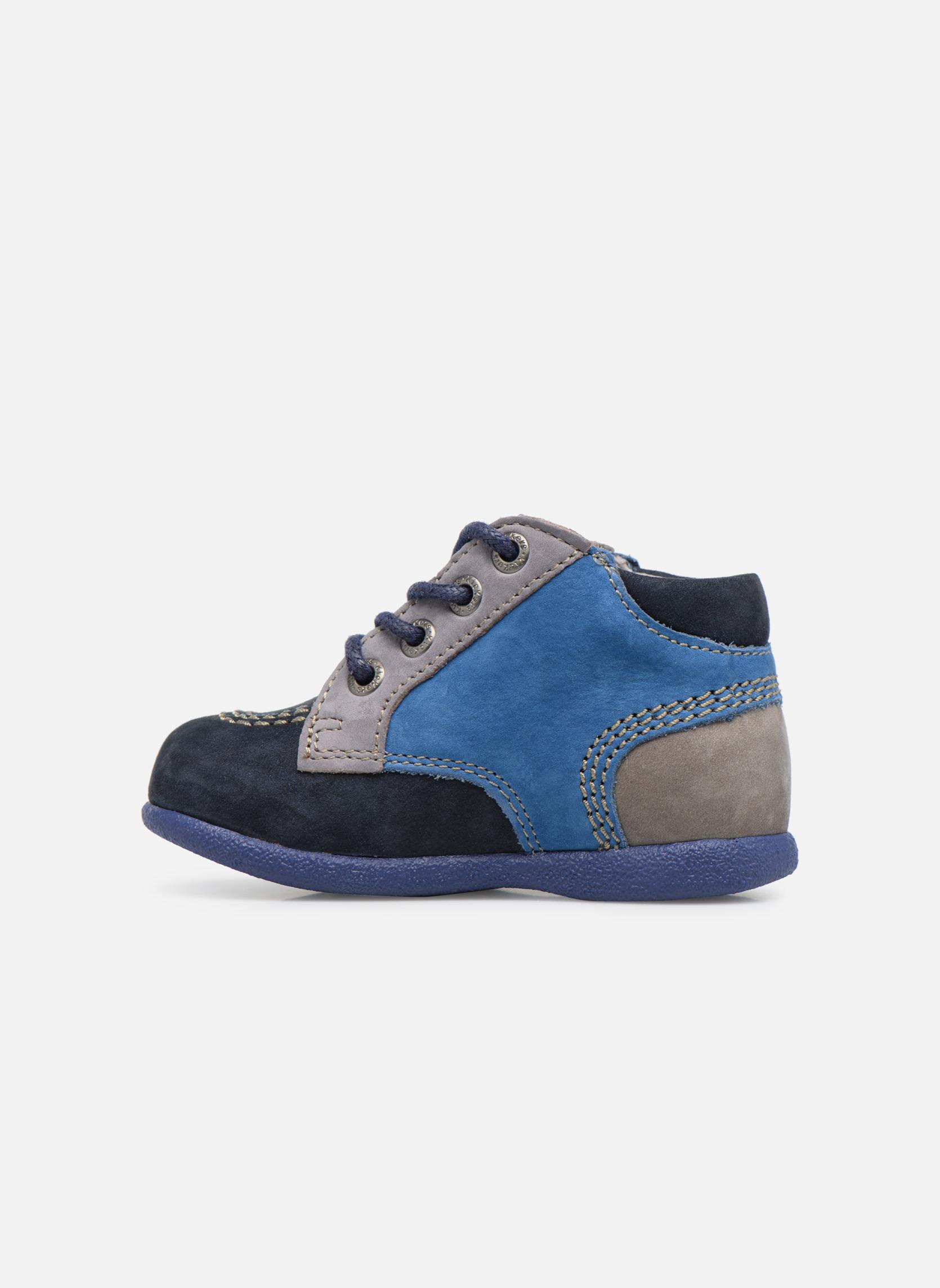 Bottines et boots Kickers Babystan Bleu vue face