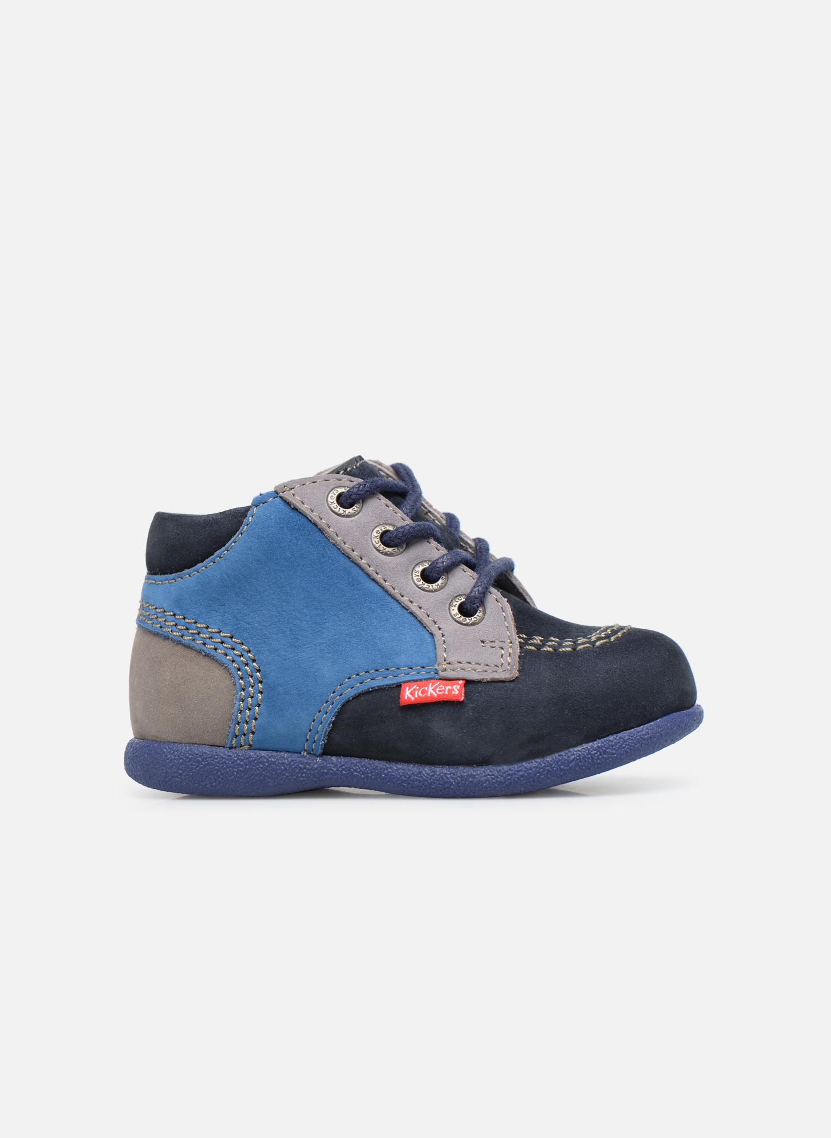 Bottines et boots Kickers Babystan Bleu vue derrière
