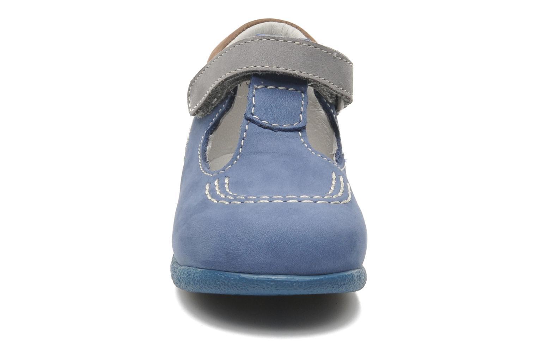 Bottines d'été Kickers BABYFRESH Bleu vue portées chaussures