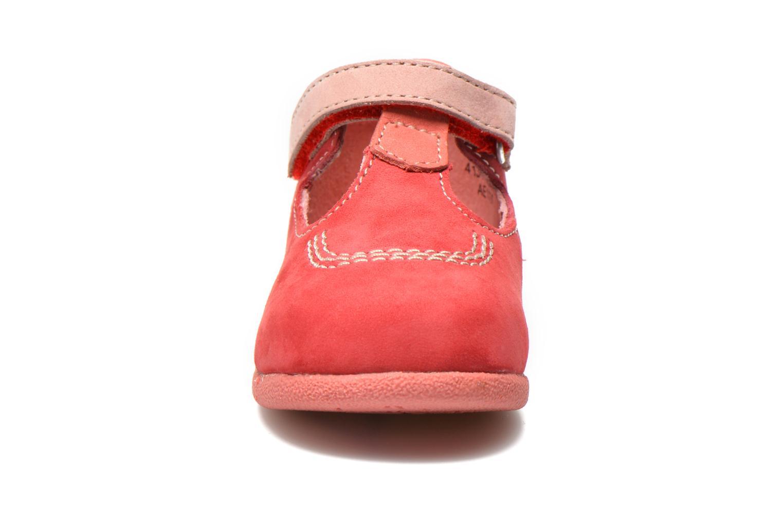 Bottines d'été Kickers BABYFRESH Rose vue portées chaussures