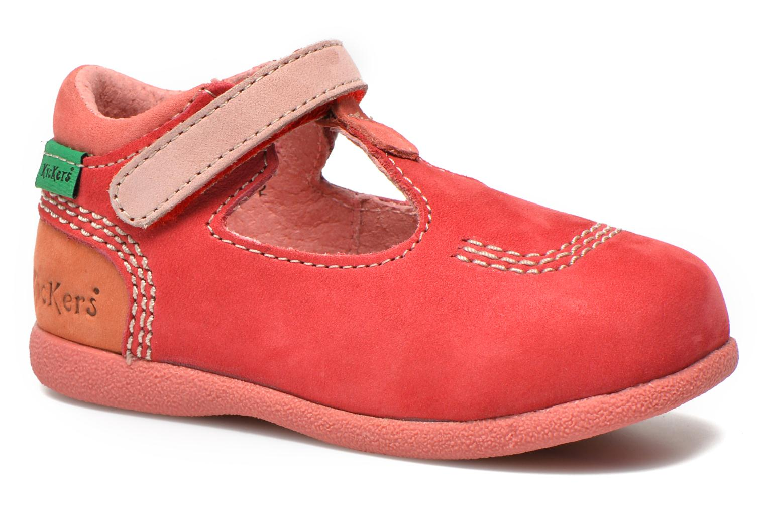 Zomerlaarsjes Kickers BABYFRESH Roze detail