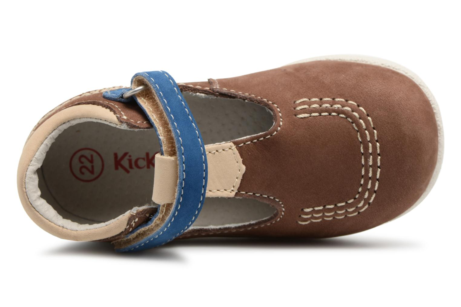 Zomerlaarsjes Kickers BABYFRESH Beige links