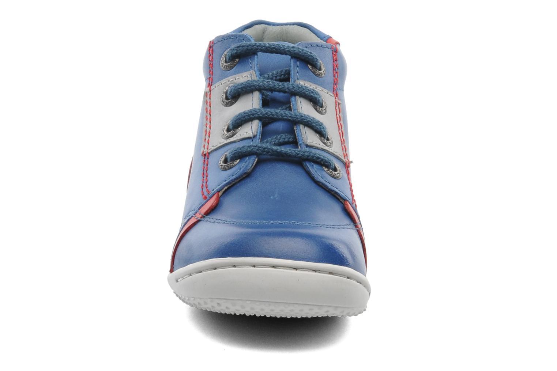 Bottines et boots Kickers GAZO Bleu vue portées chaussures