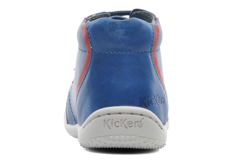 Bottines et boots Kickers GAZO Bleu vue droite
