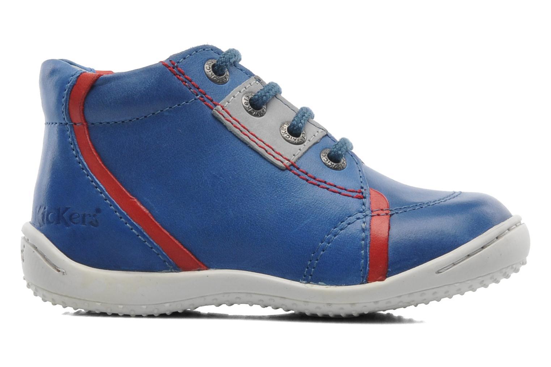 Bottines et boots Kickers GAZO Bleu vue derrière