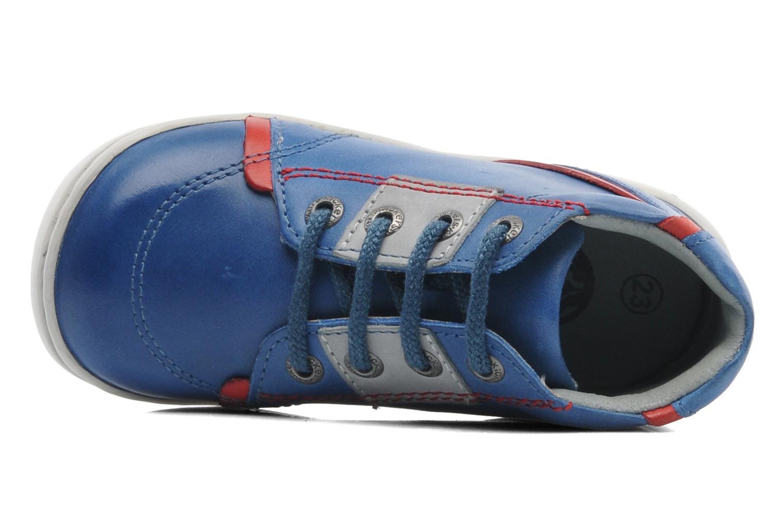 Bottines et boots Kickers GAZO Bleu vue gauche