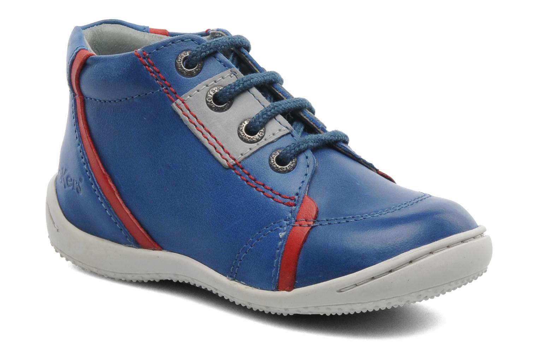 Bottines et boots Kickers GAZO Bleu vue détail/paire