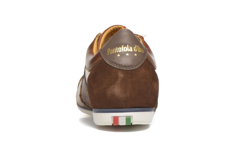 Sneaker Pantofola d'Oro Pesaro Piceno Low Men braun ansicht von rechts