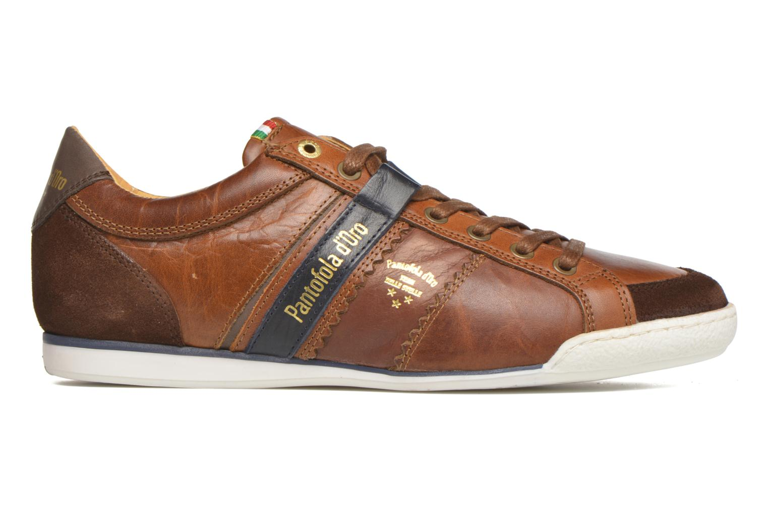 Baskets Pantofola d'Oro Pesaro Piceno Low Men Marron vue derrière