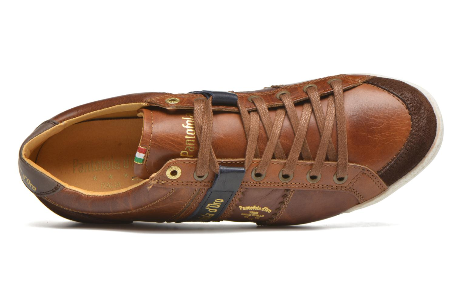 Baskets Pantofola d'Oro Pesaro Piceno Low Men Marron vue gauche