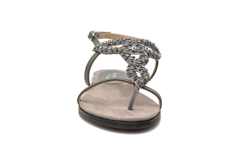 Sandales et nu-pieds Elizabeth Stuart Finco 688 Gris vue portées chaussures