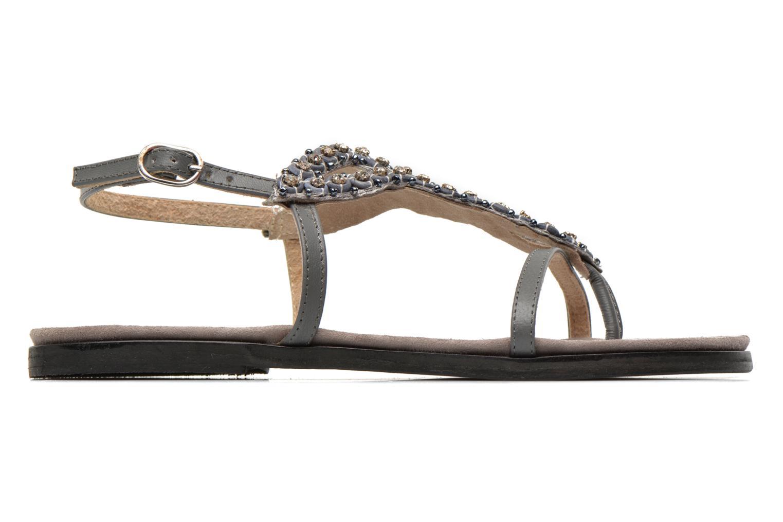 Sandales et nu-pieds Elizabeth Stuart Finco 688 Gris vue derrière