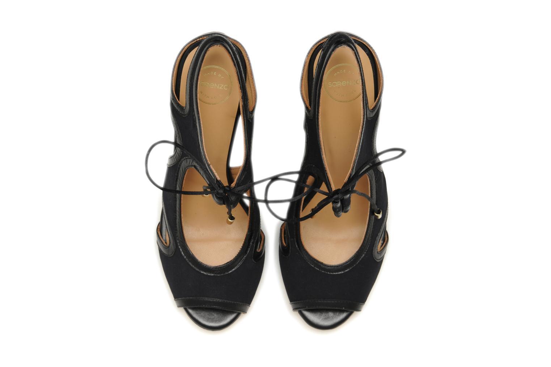 Sandalen Made by SARENZA Guimauve #1 schwarz schuhe getragen