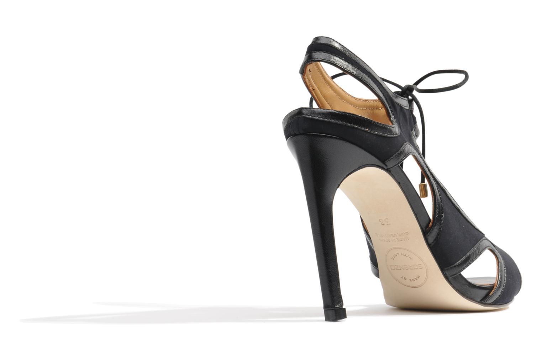 Sandals Made by SARENZA Guimauve #1 Black front view
