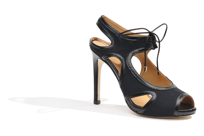 Sandalen Made by SARENZA Guimauve #1 schwarz ansicht von rechts
