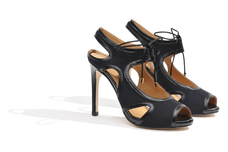 Sandalen Made by SARENZA Guimauve #1 schwarz ansicht von hinten