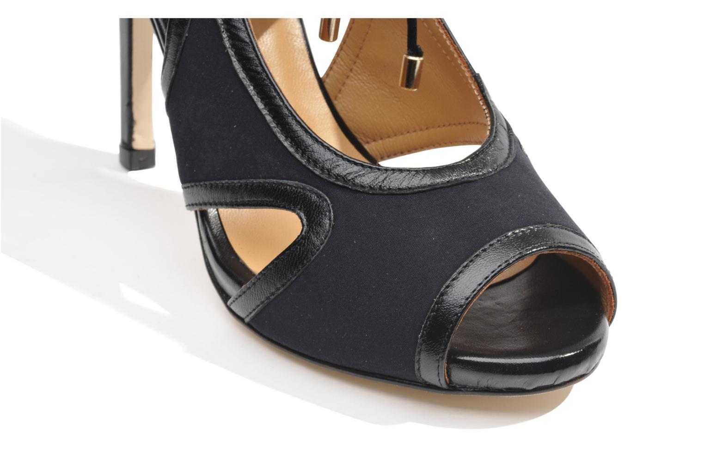 Sandalen Made by SARENZA Guimauve #1 schwarz ansicht von oben