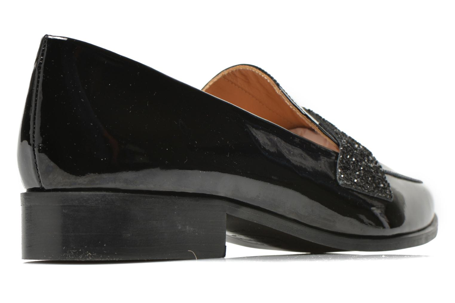 Loafers Made by SARENZA 90's Girls Gang Mocassins #3 Black model view