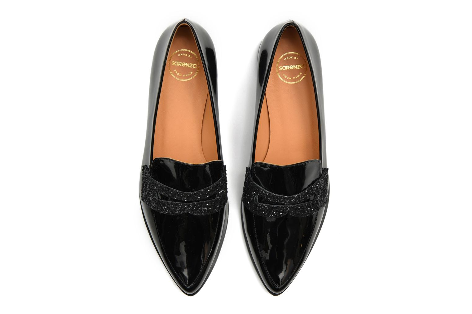 Loafers Made by SARENZA 90's Girls Gang Mocassins #3 Black view from above