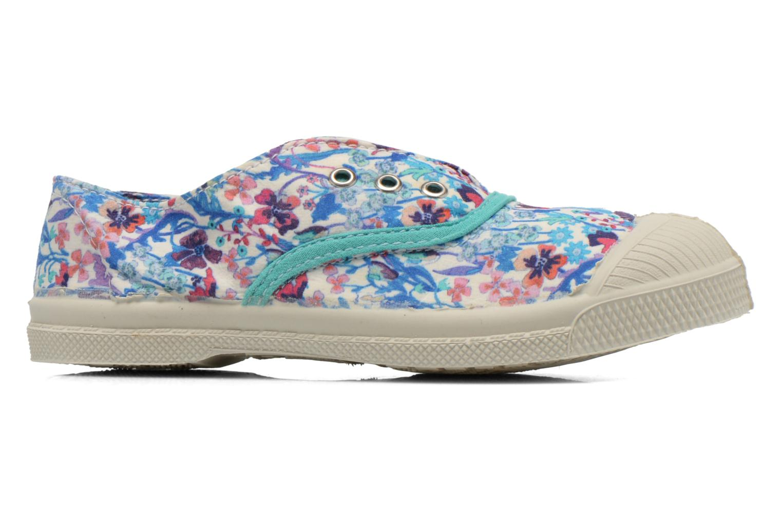 Trainers Bensimon Tennis Elly Liberty E Multicolor back view