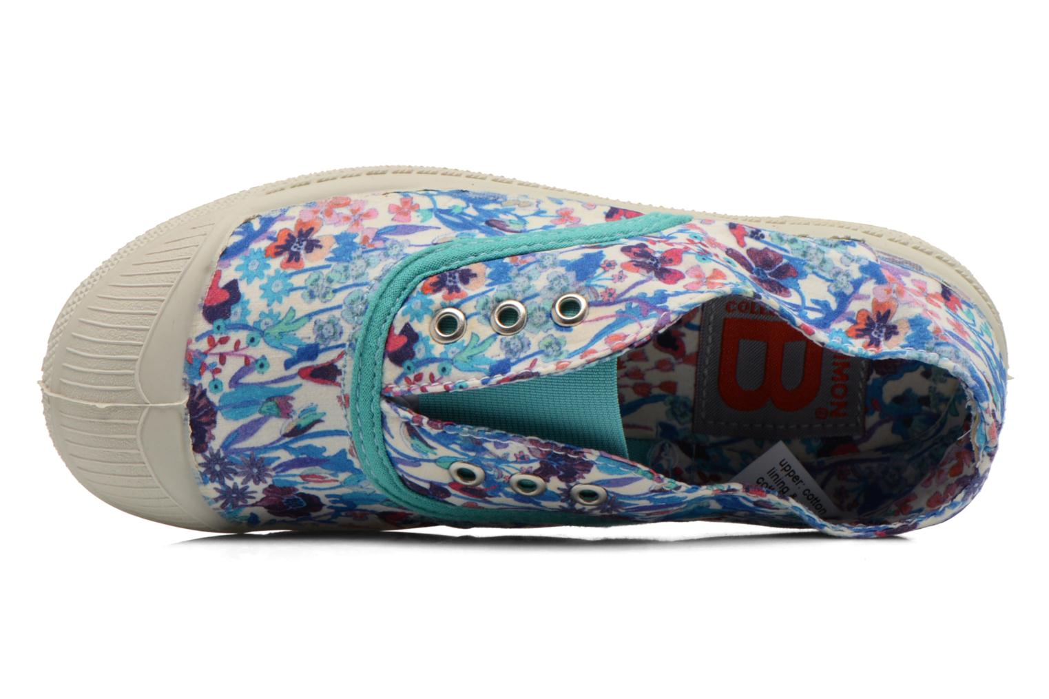 Trainers Bensimon Tennis Elly Liberty E Multicolor view from the left