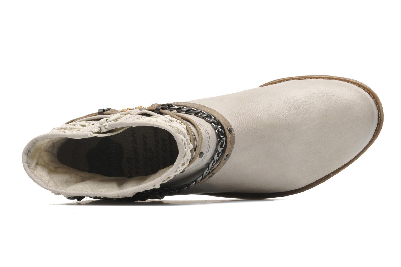 Bottines et boots Mustang shoes Amuvi Beige vue gauche