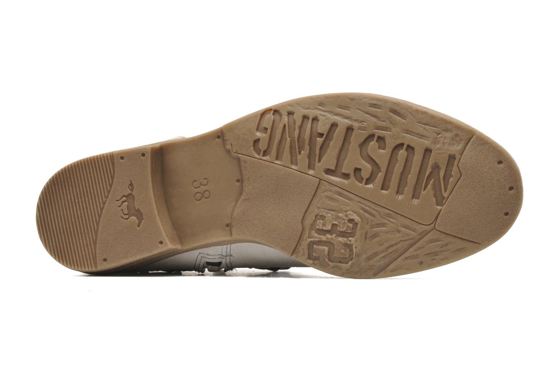 Bottines et boots Mustang shoes Amuvi Beige vue haut