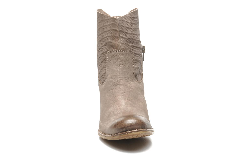 Bottines et boots Bugatti V4221-5G Beige vue portées chaussures