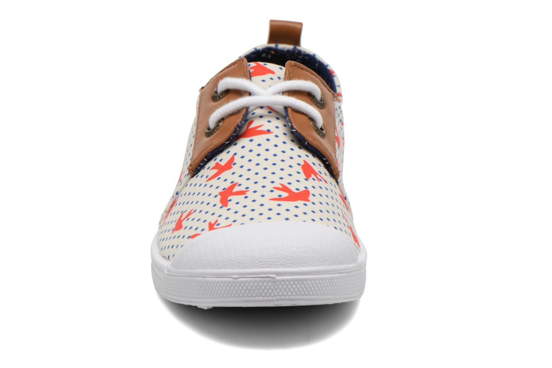 Sneaker Le temps des cerises Basic 02 Fancy mehrfarbig schuhe getragen