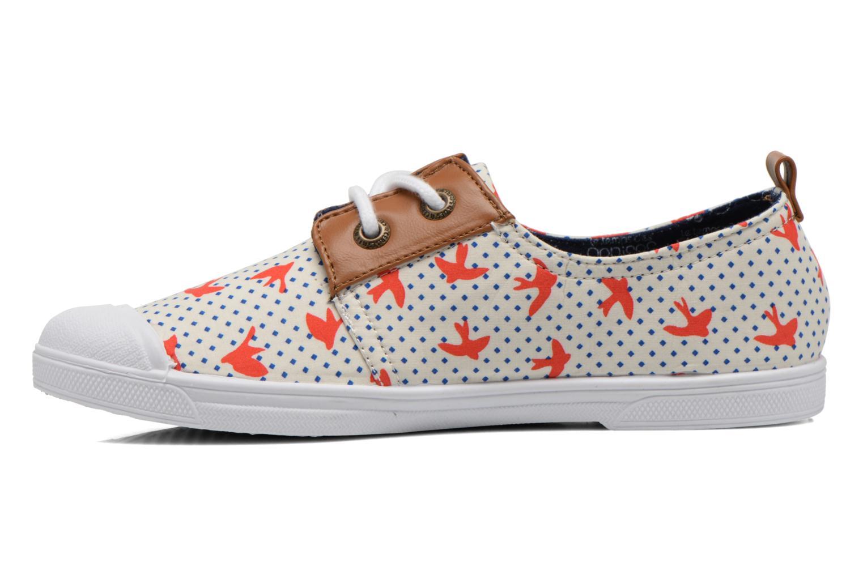 Sneaker Le temps des cerises Basic 02 Fancy mehrfarbig ansicht von vorne