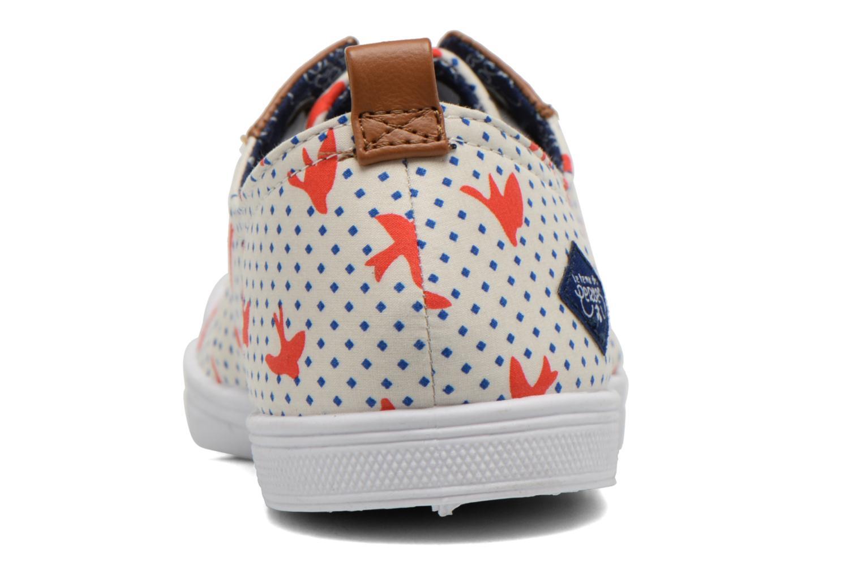 Sneaker Le temps des cerises Basic 02 Fancy mehrfarbig ansicht von rechts