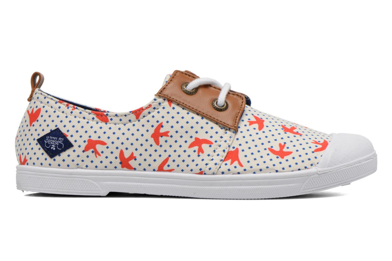 Sneaker Le temps des cerises Basic 02 Fancy mehrfarbig ansicht von hinten