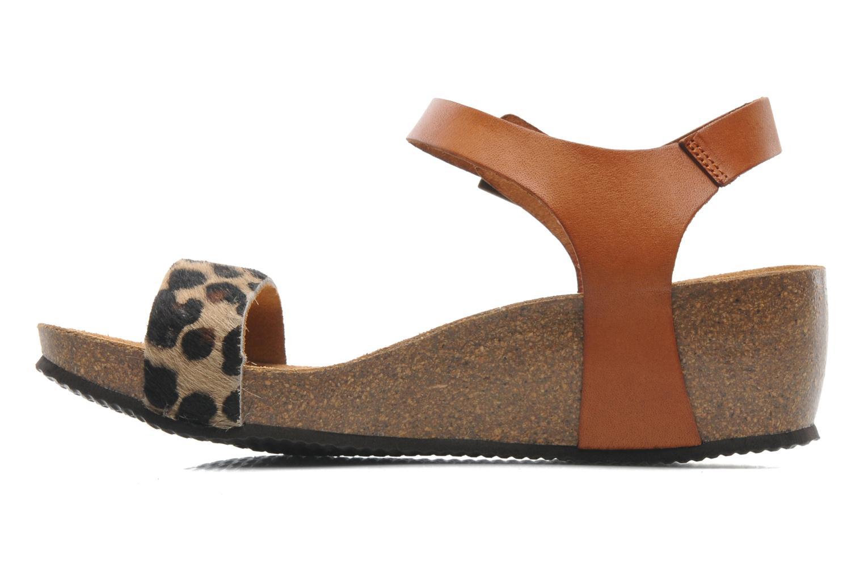 Astrid Bicolor Leopard Brown