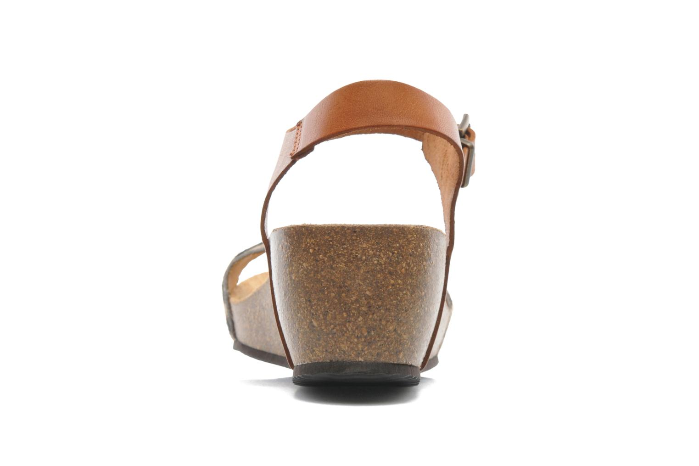 Sandales et nu-pieds Le temps des cerises Astrid Multicolore vue droite