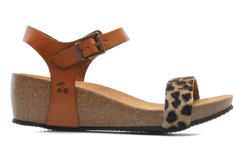 Sandales et nu-pieds Le temps des cerises Astrid Multicolore vue derrière