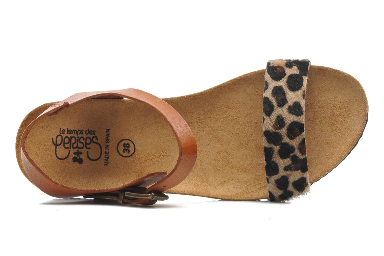 Sandales et nu-pieds Le temps des cerises Astrid Multicolore vue gauche