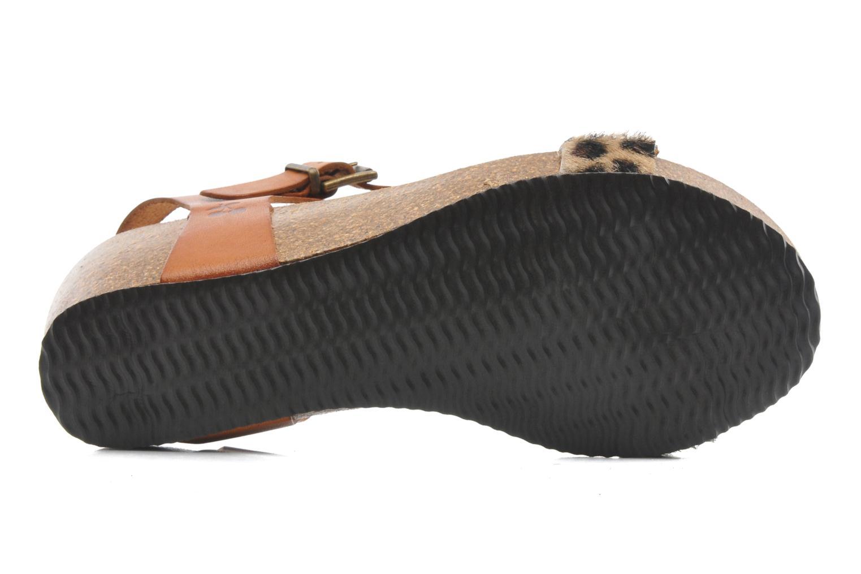 Sandales et nu-pieds Le temps des cerises Astrid Multicolore vue haut