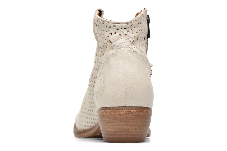 Bottines et boots Catarina Martins MEGAN ZIP BOOT PERF. LEATHER Blanc vue droite
