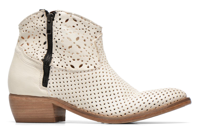 Bottines et boots Catarina Martins MEGAN ZIP BOOT PERF. LEATHER Blanc vue derrière