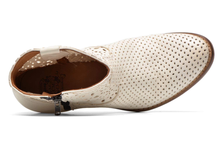 Bottines et boots Catarina Martins MEGAN ZIP BOOT PERF. LEATHER Blanc vue gauche