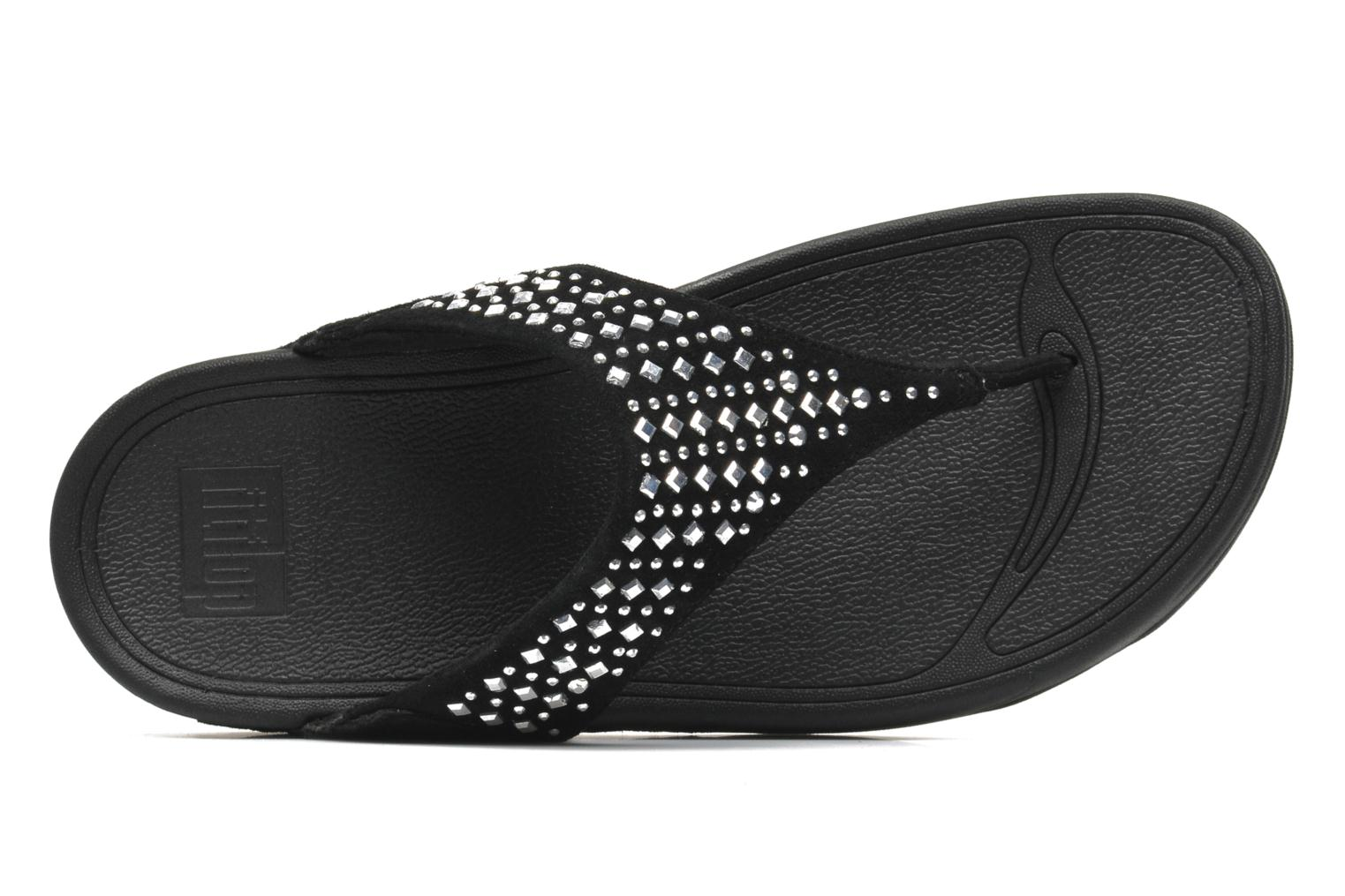 Slippers FitFlop Novy Zwart links