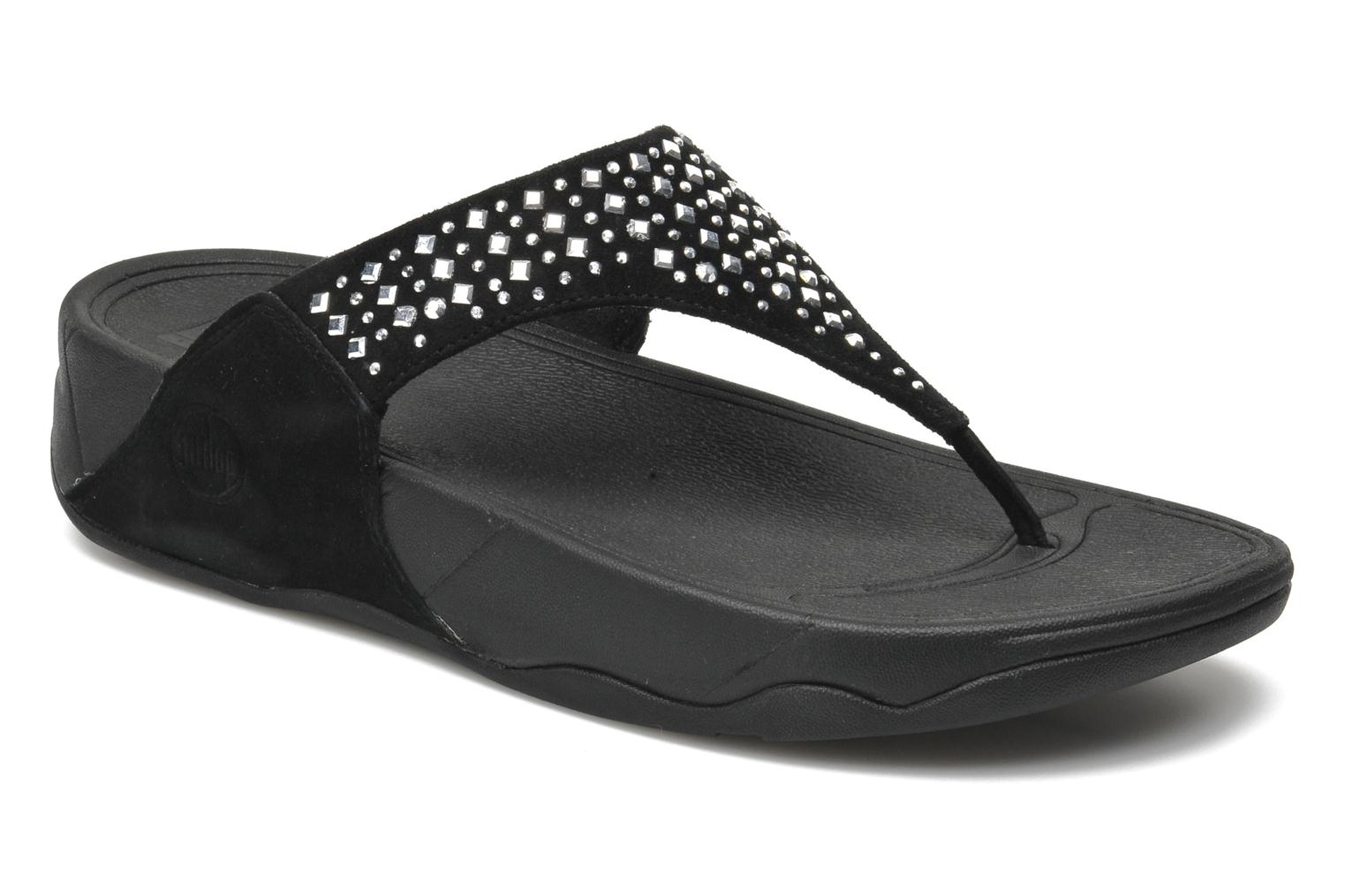 Slippers FitFlop Novy Zwart detail