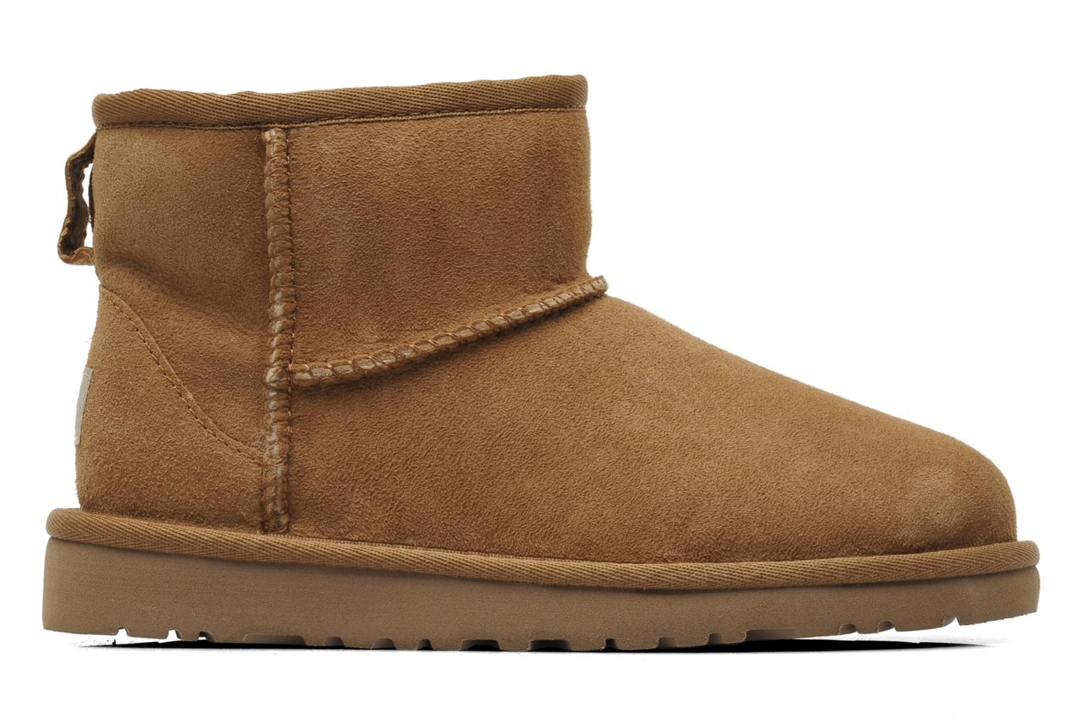 Ankle boots UGG K CLASSIC MINI Beige back view