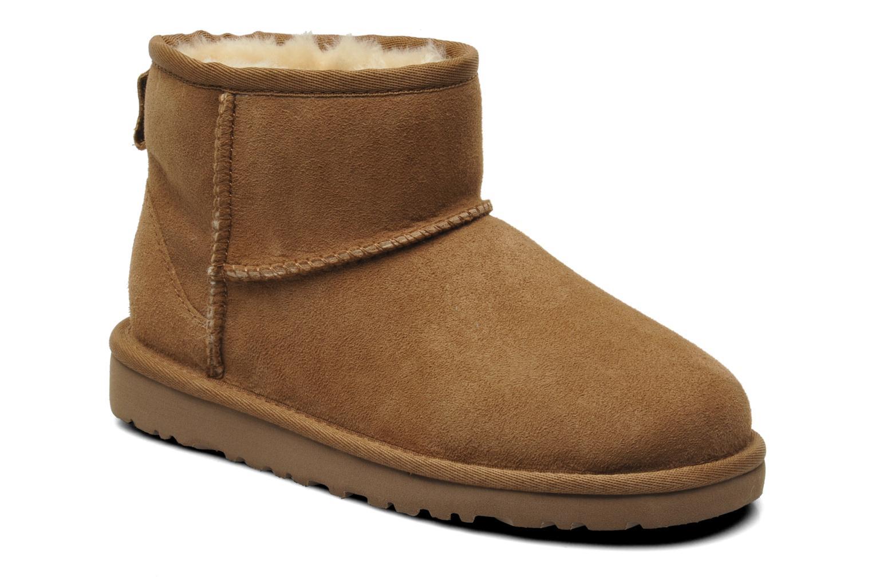 Bottines et boots UGG K CLASSIC MINI Beige vue détail/paire