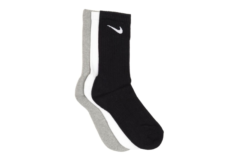 (Pack de 3) Chaussettes Nike Cushion Crew Hautes Gry/Blk/Wh