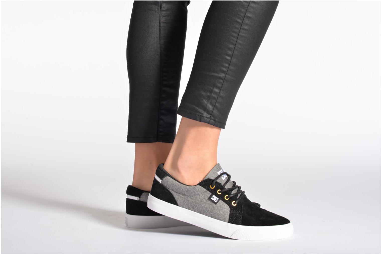 Sneaker DC Shoes Council Se W schwarz ansicht von unten / tasche getragen