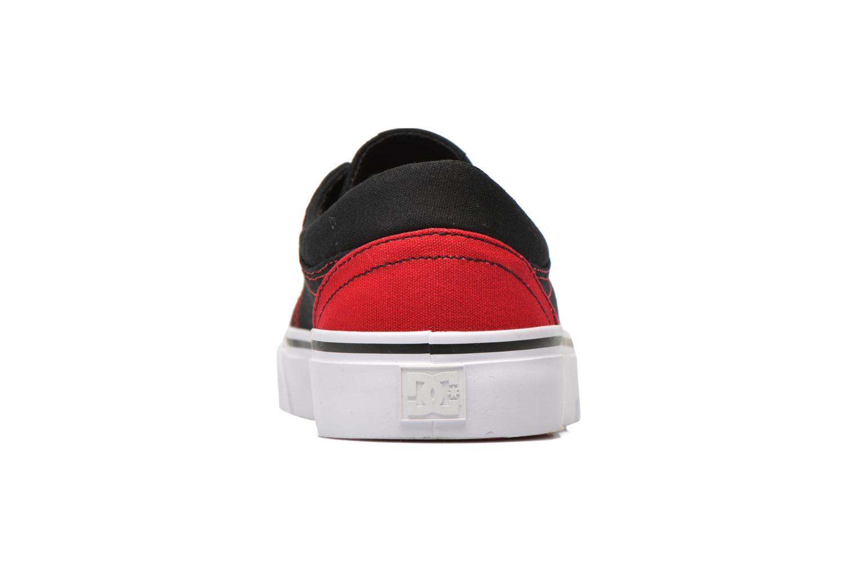 Sneaker DC Shoes Trase Tx schwarz ansicht von rechts