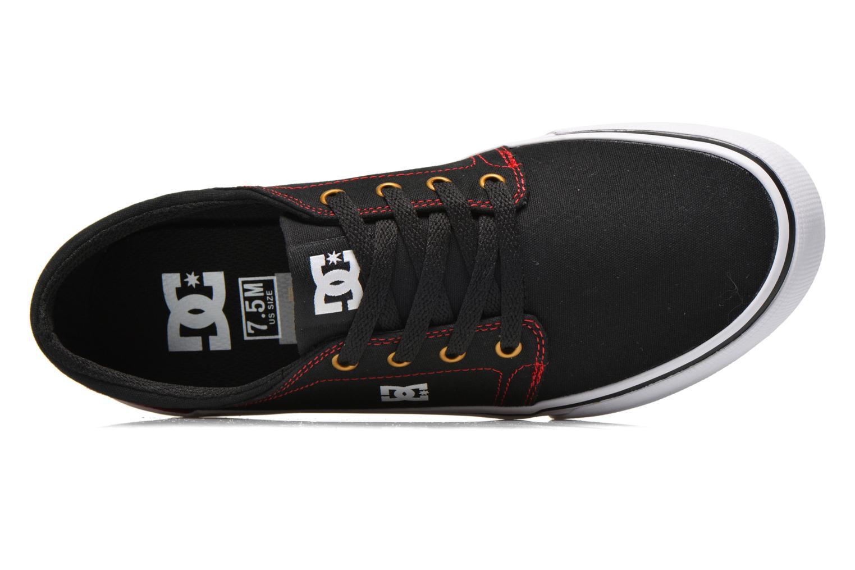 Sneaker DC Shoes Trase Tx schwarz ansicht von links